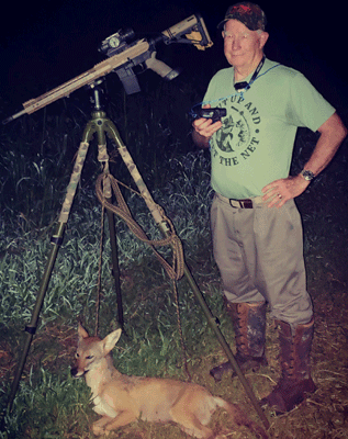 Coyote Hunt with Pulsar Axion